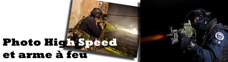 Photo high speed avec arme à feu par Francis P